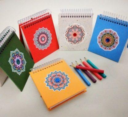 Exclusivo bloco mandala que, além de bonito contém a energia e as boas vibrações que a mandala pode oferecer.
