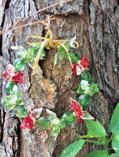 Guirlanda PP de Natal como essa, repleta de delicadeza e bem como de graça não existe no mercado!Tradição que até hoje preservamos entre nós.