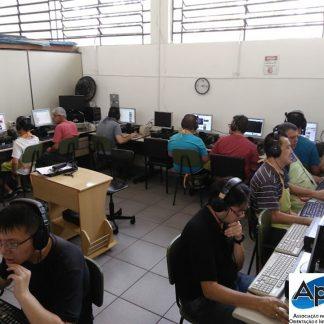Aula de informática - Inclusão Digital